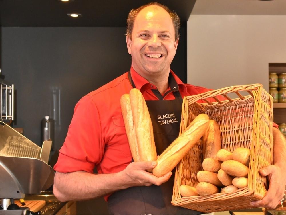 Slagerij Taveirne broodjes